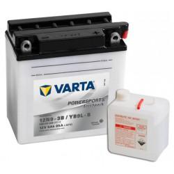 Varta Motobaterie 12V 9Ah 509 015 008 / 12N9-3B / YB9L-B