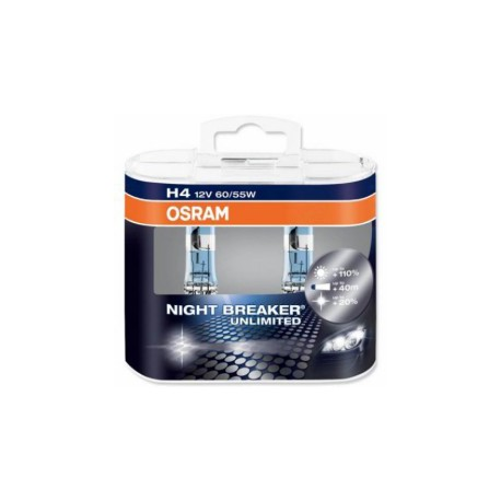 H4 60/55W 12V Osram Night Breaker Unlimited sada