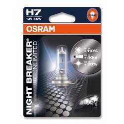 12V H7 55W Night breaker unlimited 1Ks blister