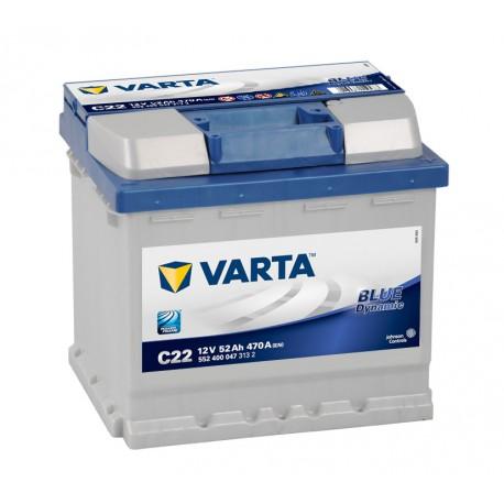 Autobaterie Varta 12V 52Ah Blue Dynamic 552 400 047