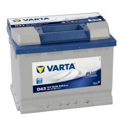 Autobaterie Varta 12V 60Ah Blue Dynamic 560 127 054