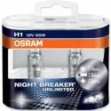 Autožárovka Osram Night Breaker Unlimited H1 55W 12V sada