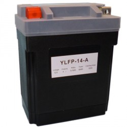 Motobaterie Lithiová YB10A-A2,YTX14AH-BS,YB14-A2,YB14A-A1,YB14A-A2,YB14-B2,  12V 8-16Ah