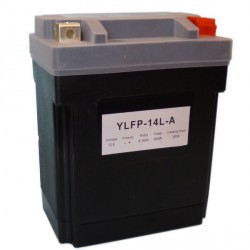 Motobaterie Lithiová YTX14AHL-BS,YB14L-A1,YB14L-A2, YB14L-B2,SYB14L-A2,12N14-3A,, 12V 8-16Ah