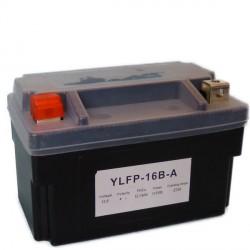 Motobaterie Lithiová YTX16-BS-1,HYB16A-AB, YB16B-A1, 12V 12-16Ah