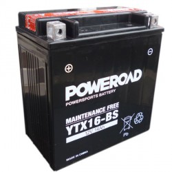 YUCELL Motobaterie AGM 12V 14Ah / YTX16-BS/YTX16-BS-1