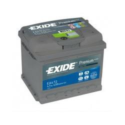 Autobaterie Exide PREMIUM 47Ah 450A 12V EA472