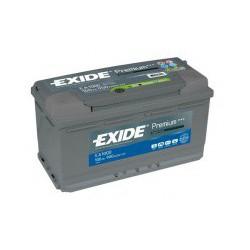 Autobaterie Exide PREMIUM 100Ah 900A 12V EA1000