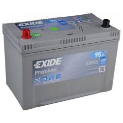 Autobaterie EXIDE Premium 95Ah, 12V, EA955