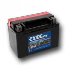 Motobaterie EXIDE 12V 6Ah 90A YTX7A-BS