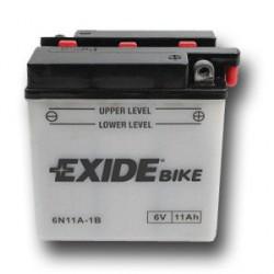 Motobaterie EXIDE 6V 11Ah, 95A 6N11A-1B