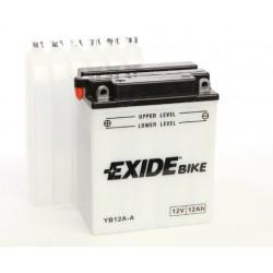 Motobaterie EXIDE 12V 12Ah 165A YB12A-A