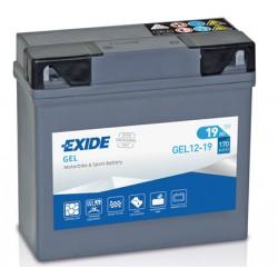 Motobaterie EXIDE 12V 19Ah 170A GEL12-19