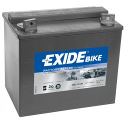 Motobaterie EXIDE 12V 30Ah 180A GEL12-30