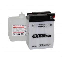 Motobaterie EXIDE 6V 13Ah, 105A B38-6A