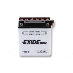 Motobaterie EXIDE 12V 5Ah 40A 12N5-3B / YB5L-B