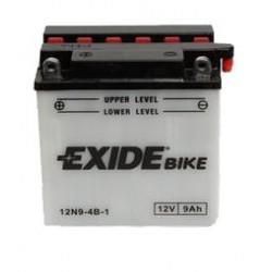 Motobaterie EXIDE 12V 9Ah 85A 12N9-4B-1