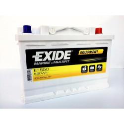Trakční baterie EXIDE EQUIPMENT 12V 80Ah ET550
