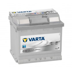 Autobaterie VARTA SILVER Dynamic 12V 54Ah 530A, 554 400, C30