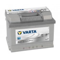 Autobaterie VARTA SILVER Dynamic 12V 61Ah 600A, 561 400, D21