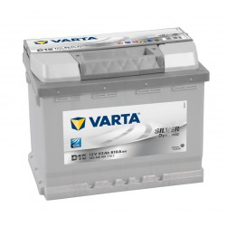 Autobaterie VARTA SILVER Dynamic 12V 63Ah 610A, 563 400, D15
