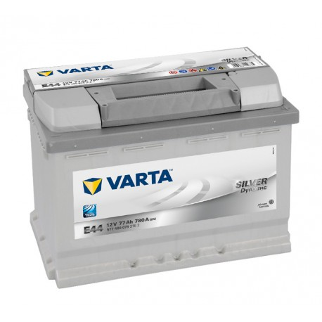 Autobaterie VARTA SILVER Dynamic 12V 77Ah 780A, 577 400, E44