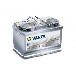 Autobaterie VARTA SILVER Dynamic AGM 12V 70Ah 760A, 570 901 076, E39