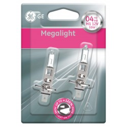 Autožárovka GE Megalight Ultra H1 + 120% svítivost