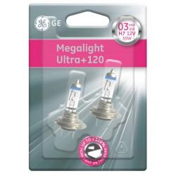 Autožárovka H7 GE Megalight Ultra +120% svítivosti