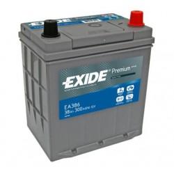 Autobaterie EXIDE Premium 12V 38Ah 300A EA386