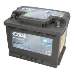 Autobaterie EXIDE Premium 12V 60Ah 600A levá EA601