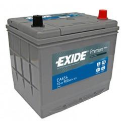 Autobaterie EXIDE Premium 12V 65Ah 580A EA654