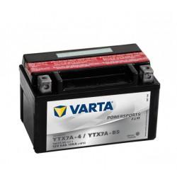 Varta Motobaterie AGM 12V 6AhYTX7A-4 / YTX7A-BS