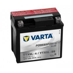 Varta Motobaterie AGM 12V 4Ah YTX5L-4 / YTX5L-BS